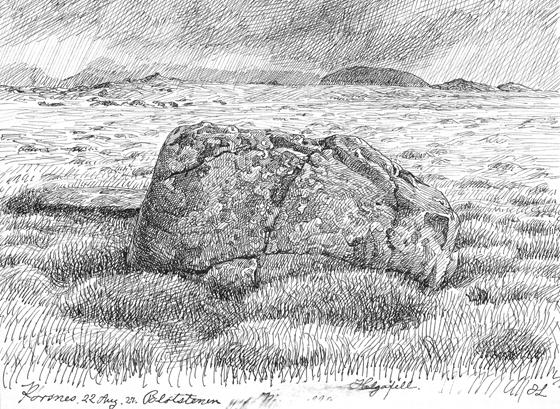 Blótsteinn á Þórsnesi